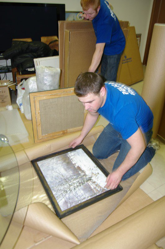 The intricacies of packing and shipping artwork